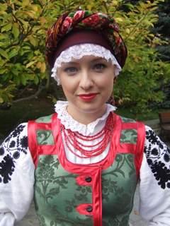 Agnieszka - portrecik w stroju wilanowskim