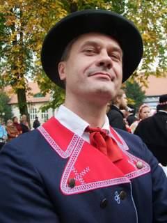 Jaś - portrecik w stroju wilanowskim